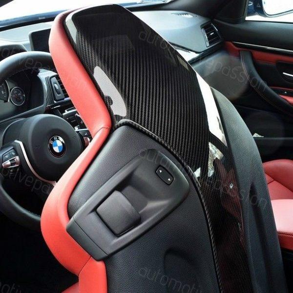 Bmw M3 Interior: BMW F80 M3/M4 Carbon Fibre Seat Back Covers
